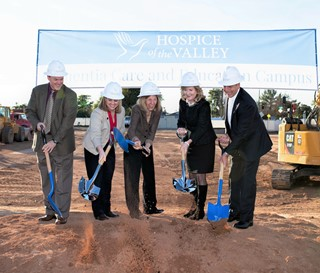 Groundbreaking of Dementia Campus